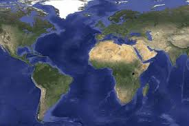 the map of the earth promises to drive away the clouds with updated maps and