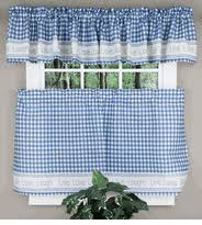 Blue Kitchen Curtains Kitchen Curtains Tiers U0026 Swags Swags Galore Kitchen Curtains