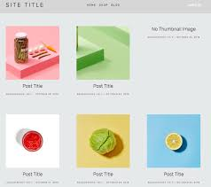 squarespace help grid stacked blog pages
