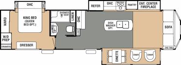 cedar creek rv floor plans gallery home fixtures decoration ideas