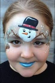 reindeer face paint by sarah haddon more holidays pinterest