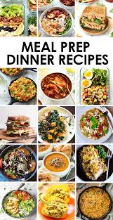 Healthy Menu Ideas For Dinner Best Meal Prep Recipes Dinners Fit Foodie Finds