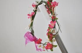 Flower Fairy Halloween Costume Halloween Costume Idea Woodland Fairy Flower Crown Diy