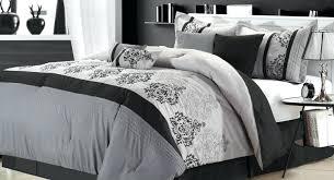 Black And Silver Bed Set Grey Black Bedding Sets Bedding Set Stunning Silver Grey Bedding
