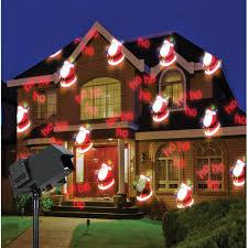 modern design led projector christmas lights floodlight outdoor