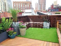 custom nyc roof deck amber freda landscape design