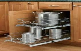 Pull Out Baskets For Kitchen Cabinets by Corner Kitchen Cabinet Sliding Shelves Cliff Image Of Sliding