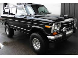 jeep wagoneer lifted 1991 jeep wagoneer for sale classiccars com cc 1025701