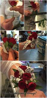 prom wrist corsage ideas how to make your own prom wrist corsage step by step