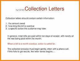 6 collections letter examples driver resume