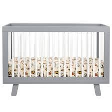 Hudson Convertible Crib Babyletto Hudson Convertible Crib Grey Munchkin Rooms