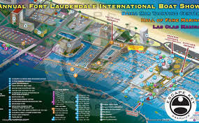 Map Of Ft Lauderdale Fort Lauderdale Boat Show Archives