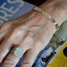 love bracelet with diamonds images Cartier love bracelet rose gold with 10 diamonds size 17 new jpg
