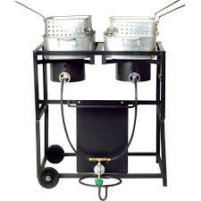 bayou classic 55 000 btu propane gas single burner outdoor stove
