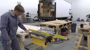 building the paulk workbench part 12 table saw mounts for dewalt