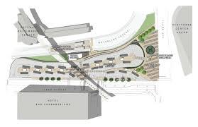 construction begins at civic center transit center metro transit