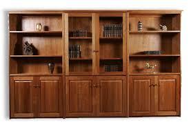 Shaker Bookcase Cherrystone Furniture Shaker Cherry Wall Unit