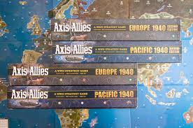 Map Of Europe 1942 by What U0027s New In Axis U0026 Allies Pacific 1940 And Europe 1940 Second