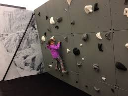climbing slabs grace north face fifth avenue store climbing wall
