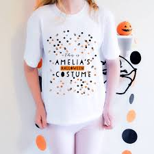 Halloween Shirt Costumes Halloween T Shirt Costume U0027confetti U0027 By August U0026 Grace