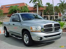 2006 bright silver metallic dodge ram 2500 slt quad cab thunder