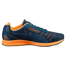 puma burst running shoes puma neutral blue wing teal orange pop