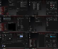 black themes windows 8 windows 8 1 theme alien red by tono3022 on deviantart