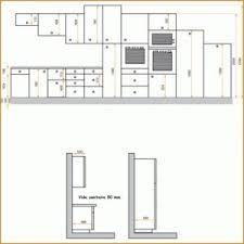 hauteur standard plan de travail cuisine hauteur standard meuble cuisine designs attrayants