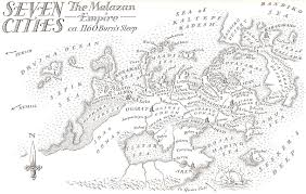 Seven Continents Map Seven Cities Malazan Wiki Fandom Powered By Wikia