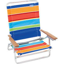 Beach Chairs At Walmart Rio Classic 5 Position High Back Beach Chair Walmart Com