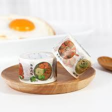 masking cuisine kinbor food masking diy craft washi paper