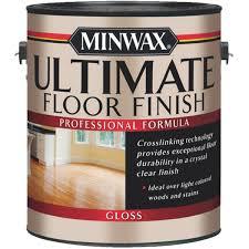 minwax water based polyurethane floor finish 131010000