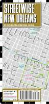 Map Of The French Quarter In New Orleans by Streetwise New Orleans Map Laminated City Center Street Map Of