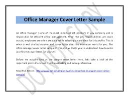 cover letter office manager cover letter examples best cover