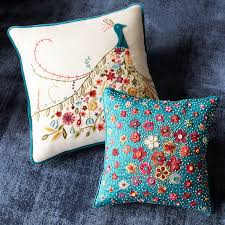 Peacock Pillow Pier One by Floral Peacock Pillow Pier 1 Imports
