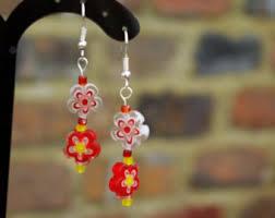 sixties earrings 60s earrings etsy