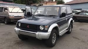 mitsubishi pajero modified mitsubishi pajero turbo diesel 1992 manual 32000mileage youtube