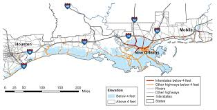 Map Of Areas To Avoid In New Orleans by Climate Impacts On Transportation Climate Change Impacts Us Epa
