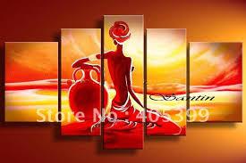 canvas paintings cheap worldwide new style handmade