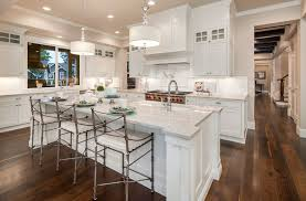 white kitchen with island 27 open concept kitchens pictures of designs layouts