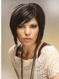 mid length hair cuts longer in front dramatic bob hairstyle 13 sensational short hairstyles for long