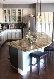 kitchen design with island round kitchen island shapes modern curved ideas design designs