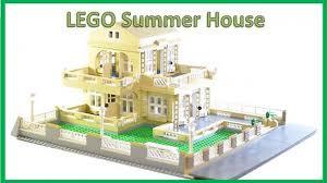 Lego House Floor Plan Lego Moc 2292 Summer House Creator 2014 Rebrickable Build