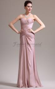 gorgeous pink trumpet mermaid sweetheart floor length satin