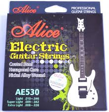 light electric guitar strings alice x super light electric guitar strings stainless steel nickel