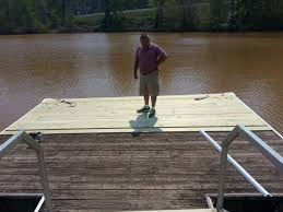 new and improved floating dock at lake martin u2013 lake martin voice