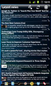 news widgets for android news widget sitepoint