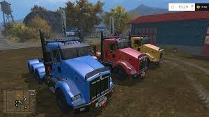 trailer kenworth 2016 kenworth t800 v1 0 farming simulator modification farmingmod com