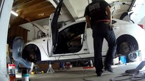 lexus air suspension air runner working on air suspension hanging trunk setup on wills lexus isf