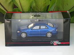 lexus altezza is200 high speed 1 43 diecast model car toyota altezza lexus is200 blue